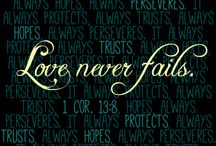 Love Never Fails ❤