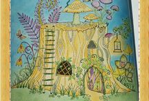 Enchanted forest / My own colorings
