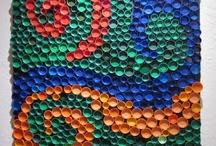 Tapas plástico / Bottle tap- mural