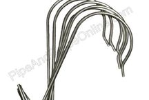 """Sign """"S"""" Hooks for Trade Shows / Why are Sign """"S"""" Hooks so popular for hanging banners with grommets and trade show booth number signage? Because Sign """"S"""" Hooks are easy to work with, extremely inexpensive, and they get the job done!"""