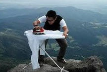 Extreme Ironing / The greatest sport you didn't know existed.  / by Sler M
