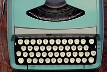 Just My Type / Because I'm obsessed with vintage typewriters.