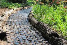 zahradní cestičky a chodníčky