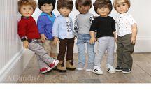 """18"""" boy dolls*n*fashion"""