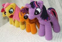 my little pony crochet doll