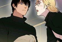 Blood Bank / Eric & Shell *erotic yaoi manga*