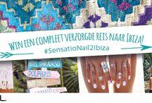 SensatioNail 2 Ibiza / Upload jouw meest zomerse of kerstige manicure en win een reis naar Ibiza! http://bit.ly/1NEL8wh