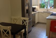 Small white kitchen / dyker heights brooklyn, ny kitchen