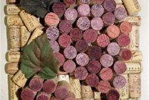 Искусство с винной пробкой