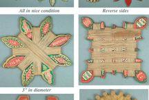 Vintage needlework tools