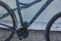 Mountain and BMX bikes