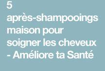 soins après shampooing