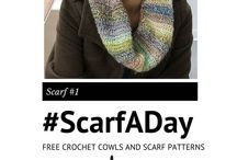 #ScarfADay / We have SO many crochet scarves and cowl patterns that we want to share with you! From now on until forever (yes, I might be serious) we are going to share a ‪#‎ScarfADay‬ right here! / by AllFreeCrochet