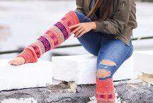 Legwear / Cute leg warmers, cozy socks, boot cuffs, boot socks and more