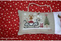 CHRISTMAS  CROSH  STITCH ORNAMENT