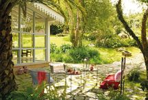 Garden - Kert / Garden, backyard, garden furniture, swimming pool, plants, t
