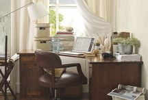 bookcases and workrooms
