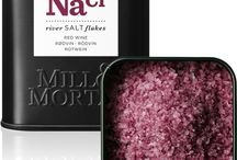 Salt / Olika typer av salt och vad man kan använda dem till.