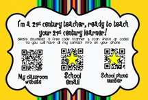 QR Codes in the Classroom - Elementary Examples / by Ann Baum (Johnston)
