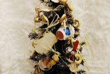 Christmas trees, smelling home and party / Handmade Xmas trees