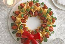Christmas Food Board