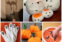 Trick or Treat! / Great sensory bin ideas, crafts and messy play ideas Halloween Themed!!