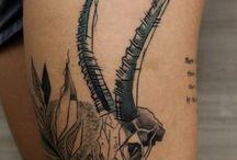 tattoo / gazelle tattoo
