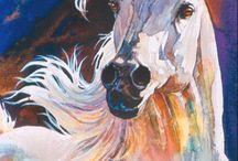 Kolorowe rysunki zwierząt