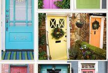Custom Colored Entry Doors