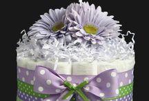 Purple Themed Baby Shower Ideas / by Erin Martin