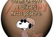 buongiorno Snoopy