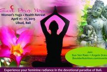Bali Women's Health + Yoga Retreat 2017 / April 22-29th, 2017
