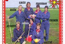Boerengolf Sept. 2006 / Met de club leiders aan de boerengolf.. dat was zo leuk , en prachtig mooi weer gehad.