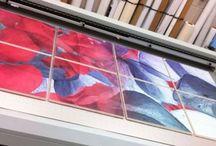 Print to plate / Rechtstreeks printen in full-colour én wit op elk denkbaar materiaal tot 4o mm dik.