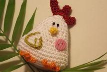 Huhn häkeln
