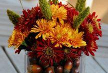 Arrangements tables automne