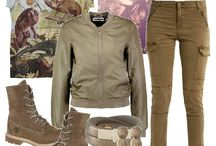 Kolory ziemi w stylizacjach - Earth Tone Outfits