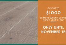 Hardwood Flooring Deals