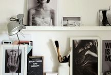 Home ideas / Shelving for art