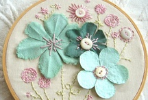 Embroidery / Beautiful sewing pieces