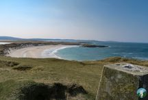The Coastlines and Peaks of the Outer Hebrides