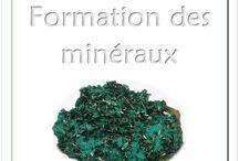 Roches et minéraux / Lapbook sur les roches et les minéraux, de l'Association Carpe Diem