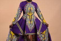 Afrikaanse stoffen/jurken