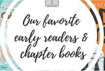 Chapter Books & Early Readers / The best chapter books and early readers for kids, tweens  and family read alouds!   #chapterbooks #earlyreaders #earlychapterbooks