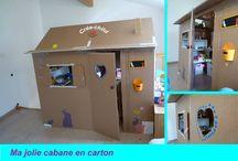 cabanes pour enfants
