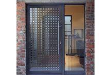 porta d'ingresso vetrata