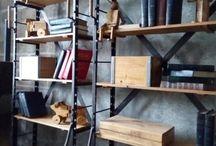 Индустриальный лофт. / Проектируем и производим мебель в стиль loft industrial.  Купить и заказать оригинальную мебель из металла от производителя в Москве. 89266148490.