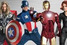 Get the Look: Avengers Costumes / The Avengers are ready, willing and able—to party. When you're a superhero you've always got to be ready for anything. Summon your superhero powers with these awesome costume ideas!