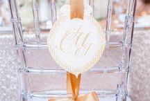 Esküvői szék díszítés