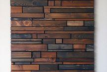 Ściany z drewna